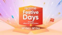 Realme Festive Days Sale: इन स्मार्टफोन्स पर शानदार ऑफर्स और डिस्काउंट उपलब्ध