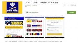 '2020 सिख रेफरेंडम ऐप' को हटाने की मांग कर रहे भारतीय