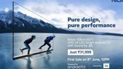 Nokia Smart TV: 8 जून को होगी पहली सेल, जानिए कीमत, फीचर्स और ऑफर्स