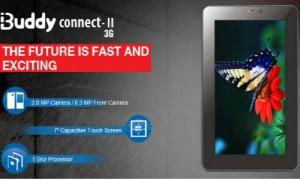इंटेक्स ने लांच किया नया 3जी एंड्रायड टैबलेट आईबडी कनेक्ट II-3G