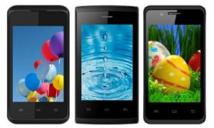 एंड्रायड किटकैट के साथ इंटेक्स ने पेश किए 3 नए स्मार्टफोन