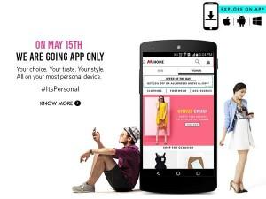 15 मई से मिंत्रा हो जाएगी शटडाउन, सिर्फ एप से करनी होगी खरीद्दारी
