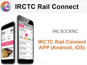 आईआरसीटीसी रेल कनेक्ट, अब चुटकियों में बुक करें ट्रेन टिकट