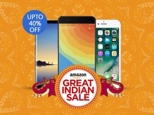 एमेजॉन ग्रेट इंडियन सेल पर मिल रही है स्मार्टफोन्स पर 40% तक की छूट