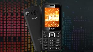 3000mAh बैटरी के साथ Ziox Z99 फोन लॉन्च, कीमत 1,643 रुपए