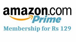 सिर्फ 129 रुपए में Amazon प्राइम मेंबरशिप लेने का मौका