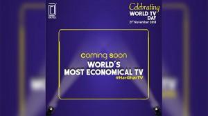 Detel ने विश्व टेलीविजन दिवस पर दिया टीवी लॉन्च करने का संकेत