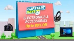 Flipkart Flipstart Days Sale: स्मार्टफोन से लेकर स्मार्ट टीवी तक, हर प्रॉडक्ट पर भरपूर डिस्काउंट