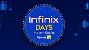 Infinix Days Sale: फ्लिपकार्ट पर 22 फरवरी तक हर स्मार्टफोन पर मिलेगी बड़ी छूट