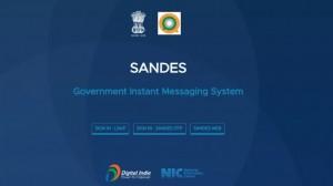 भारत सरकार ने लॉन्च किया व्हाट्सऐप का देसी विकल्प, SANDES