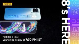 Realme 8 और Realme 8 Pro आज होंगे लॉन्च, यहां देखें लाइव स्ट्रीमिंग और पढ़ें संभावित फीचर्स