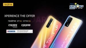 Realme X7 5G और Realme X7 Pro 5G को आज रात तक लगभग आधी कीमत में खरीदने का मौका