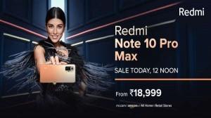 Redmi Note 10 Pro Max: ढेरों ऑफर्स और डिस्काउंट के साथ आज होगी दूसरी सेल