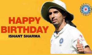 क्या आप कुछ भूल रहे हैं ? ओ ! आज क्रिकेटर इशांत शर्मा का 26 वां जन्मदिन है