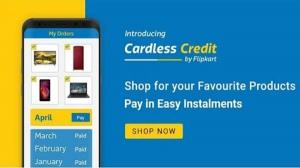 Flipkart ने शुरू किया कार्डलेस क्रेडिट, खरीद पर मिलेगा 60,000 रुपये तक का लोन